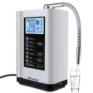 Webetop Alkaline Ionizer and Purifier Machine